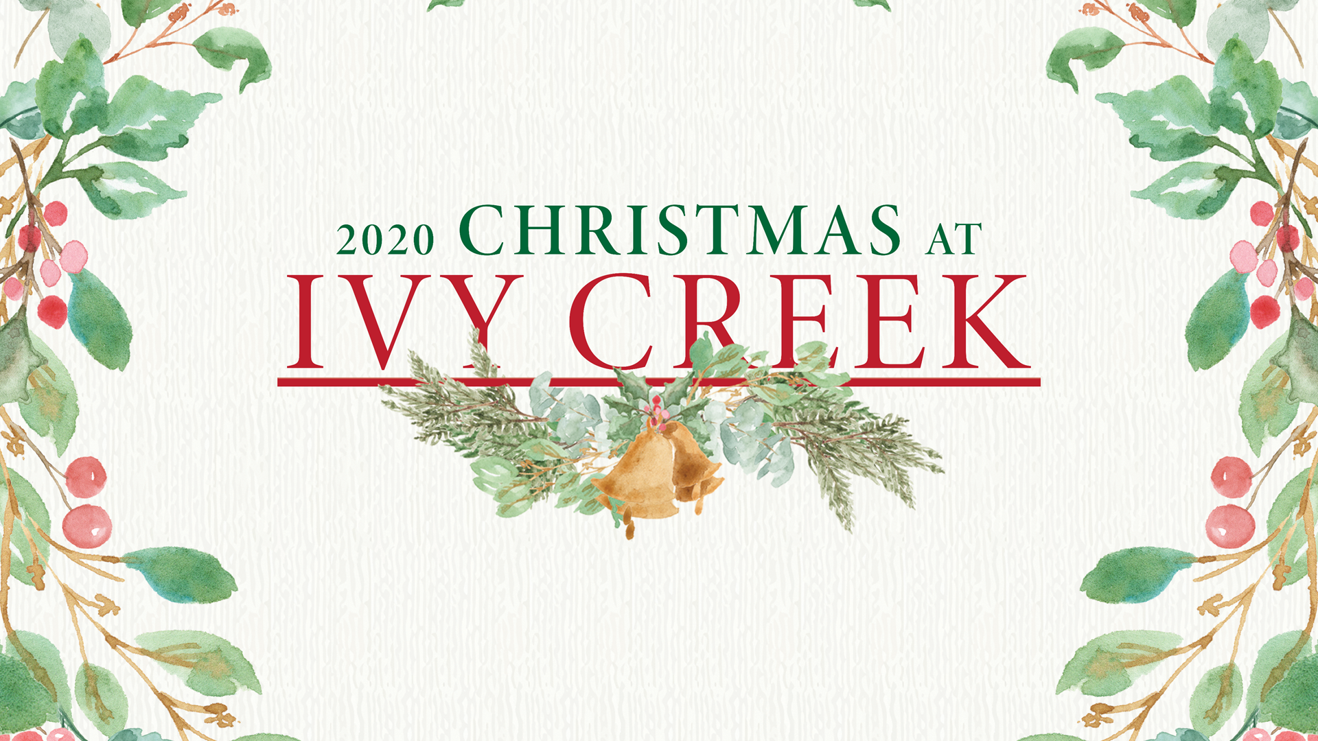 Choosing an All-Virtual Christmas at Ivy Creek